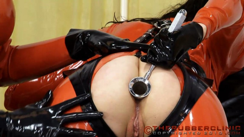 Anal Speculum Examination. Not for the faint hearted. Therubberclinic com (158 MB)