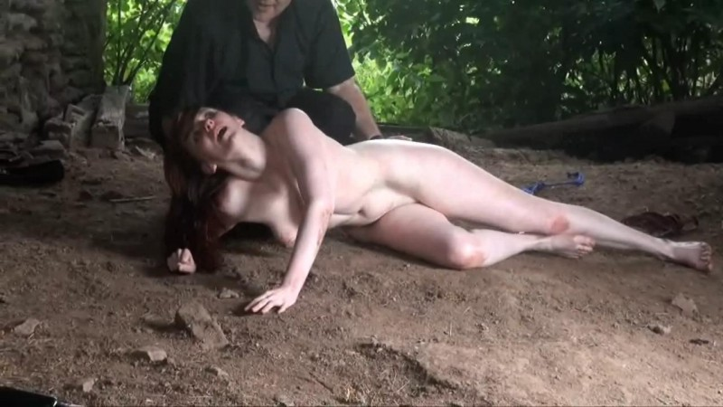 Barnyard Brutality Part2. Punishment and humiliation of slave girl Sacha. Thepainfiles 10/01/2013