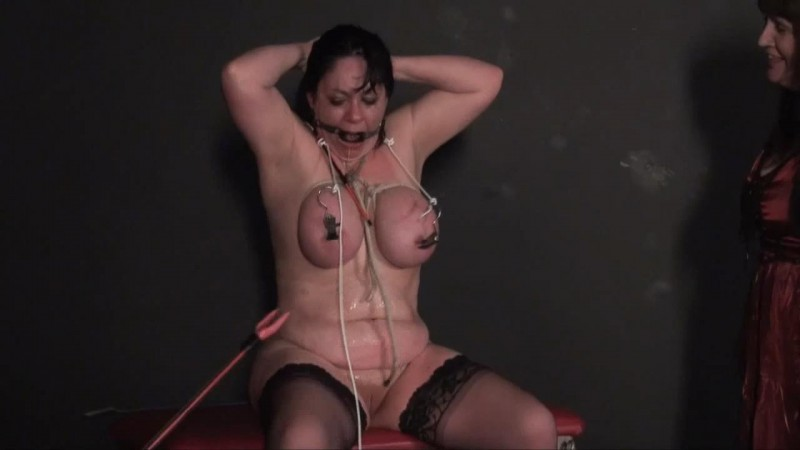 New Slavegirl Andrea - Bullying The Bitch. Andreas torments and double domination. Thepainfiles 03/28/2014