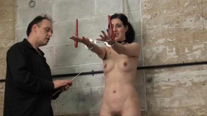 The Face of Fear Part1. New slave girl Honesty entering the dungeon. Thepainfiles 10/08/2013