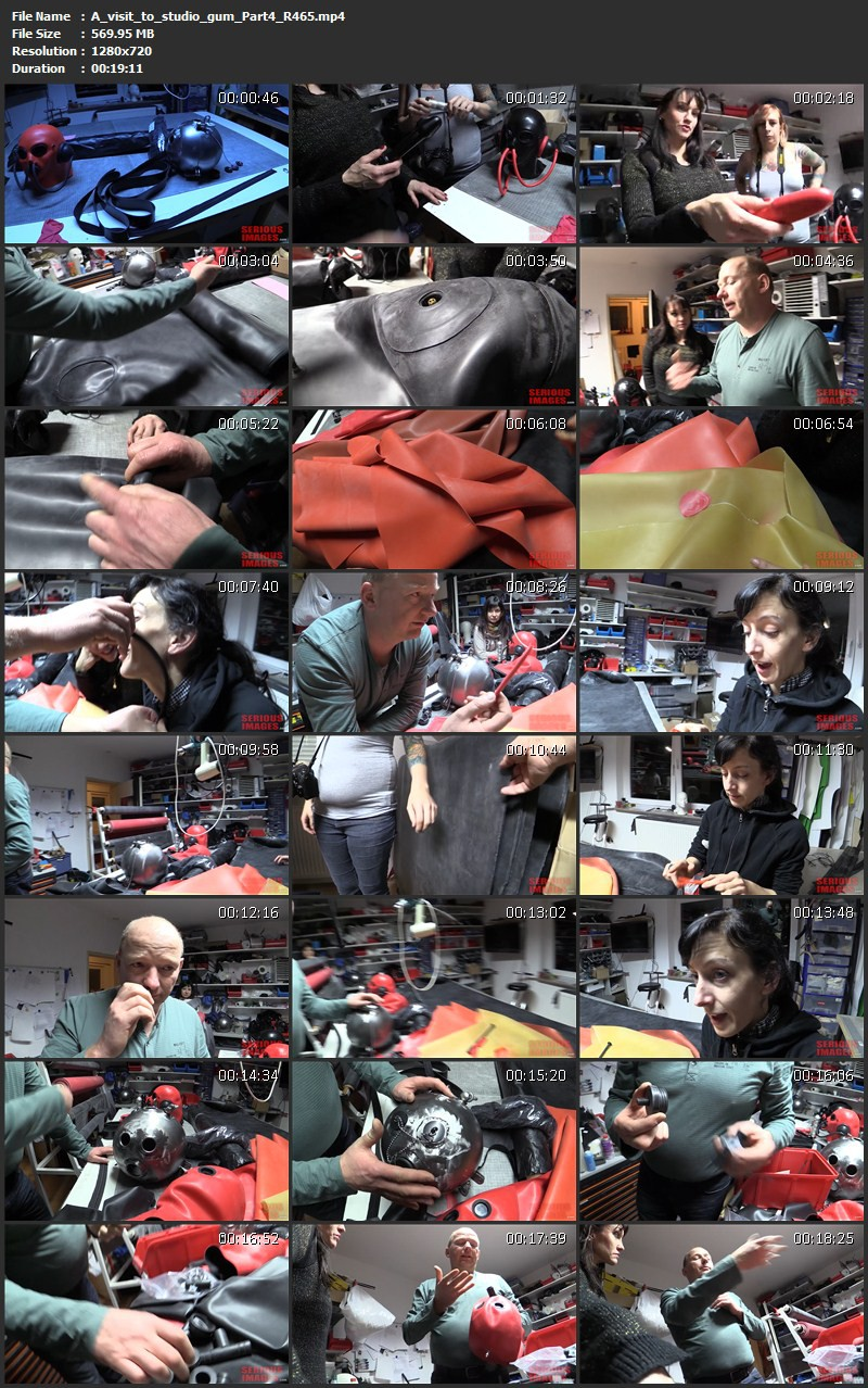 A visit to studio gum Parts 1-9 (R465). Jul 31 2015. Seriousimages.com (5087 Mb)