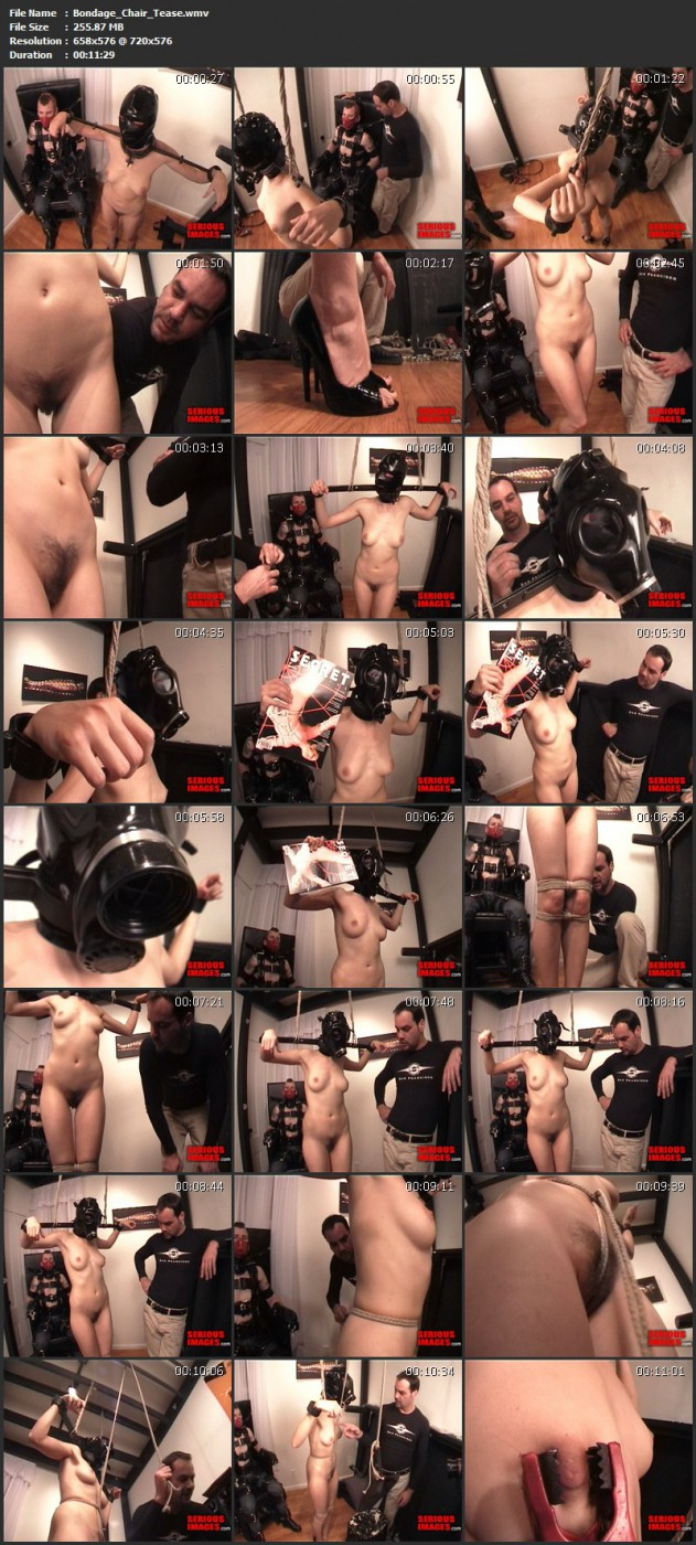 Bondage Chair Tease. May 5 2010. Seriousimages.com (255 Mb)