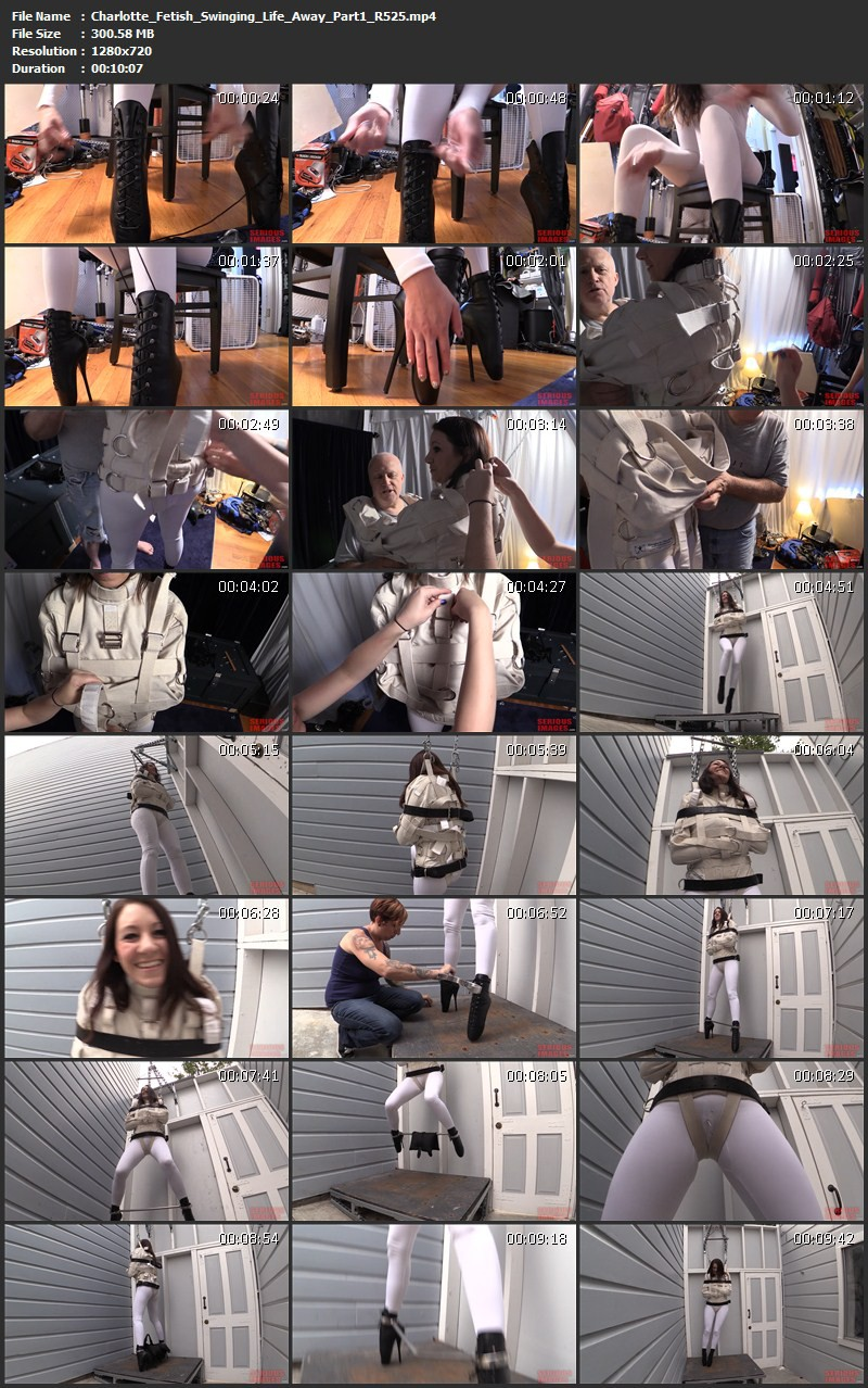 Charlotte Fetish – Purple Haze and Swinging Life Away (R525). Sep 17 2015. Seriousimages.com (412 Mb)