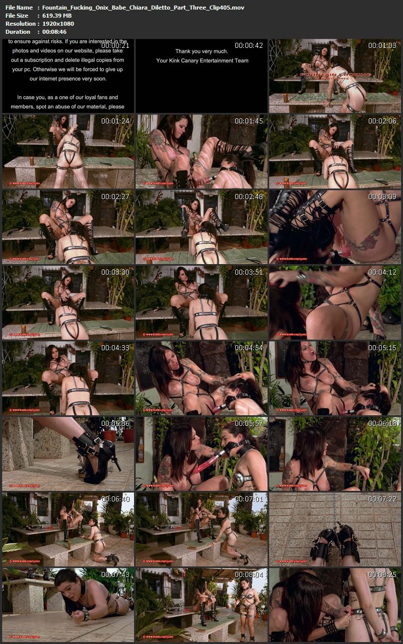 Fountain Fucking – Onix Babe, Chiara Diletto Part Three (Clip 405). Nov 30 2015. Bloodangels.com (619 Mb)