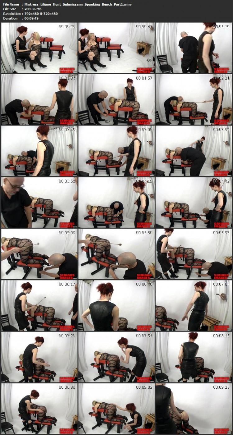 Mistress Liliane Hunt - Submissann Spanking Bench. Jan 20 2011. Seriousimages.com (1525 Mb)