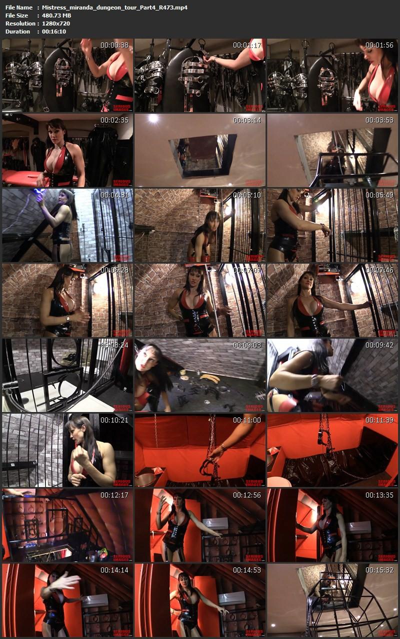Mistress miranda dungeon tour (R473). May 2 2015. Seriousimages.com (2103 Mb)