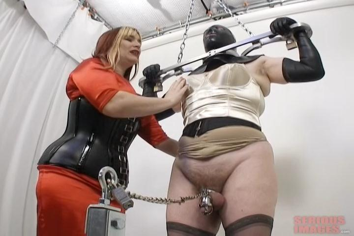 Restrained front and rear – SissyFun (R484). Jun 19 2015. Seriousimages.com (822 Mb)