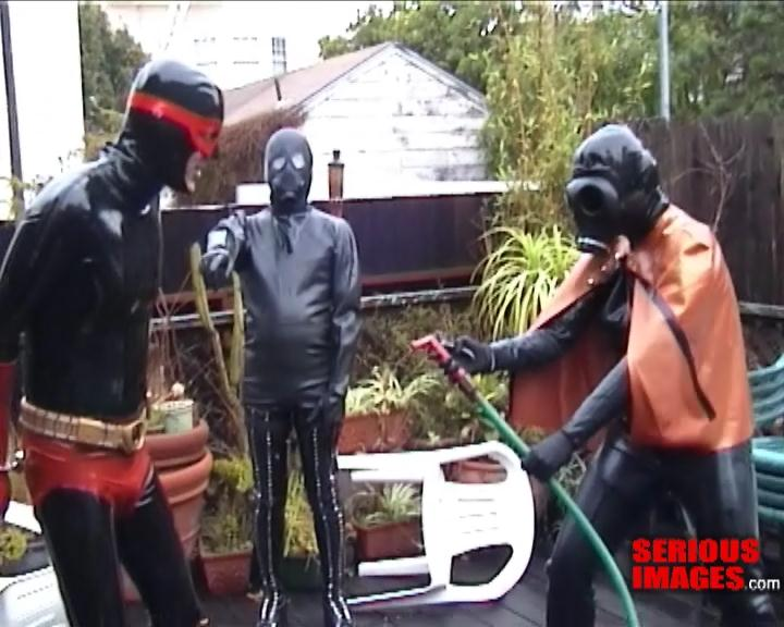 Super Hero Rubber Playtime At The Serious Bondage Institute. Nov 25 2010. Seriousimages.com (203 Mb)