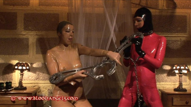 A Day In Rubber – Chastina And Karina Part Four (Clip 251). Dec 10 2012. Bloodangels.com (359 Mb)
