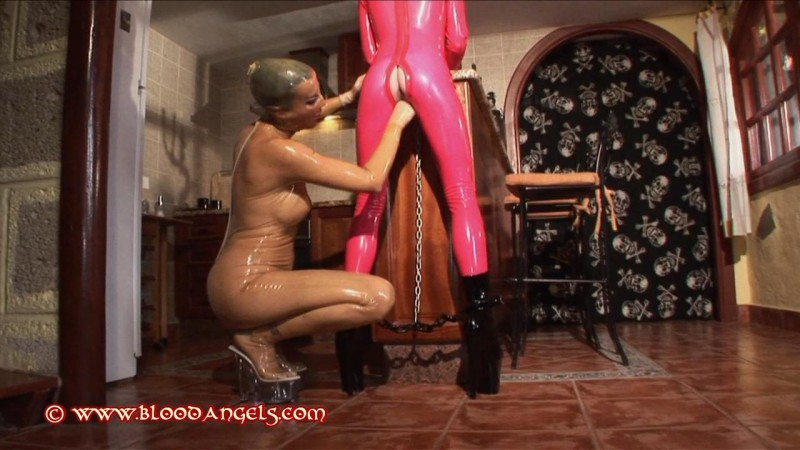 A Day In Rubber – Chastina And Karina Part Seven (Clip 265). Feb 18 2013. Bloodangels.com (372 Mb)