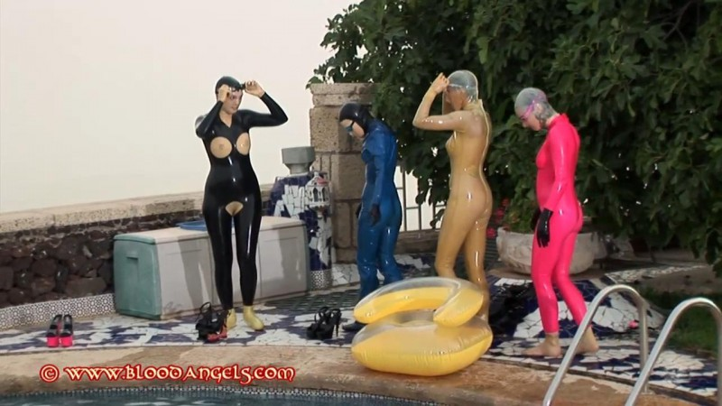 A Day In Rubber – Venus Black, Alexis, Chastina And Karina Part Twentyone (Clip 312). Dec 02 2013. Bloodangels.com (366 Mb)