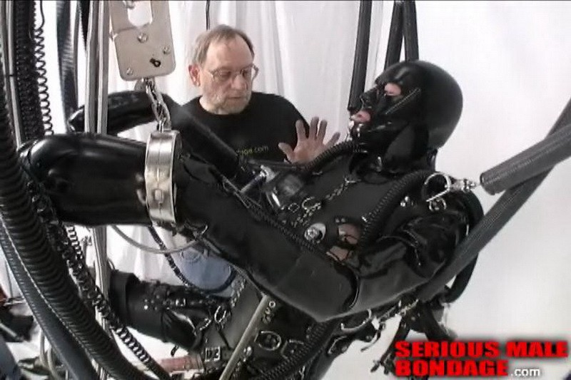 JG-Leathers and the Creature - Full Throttle - Part 1-5 (S662). Jun 05 2011. Seriousmalebondage.com (1100Mb)