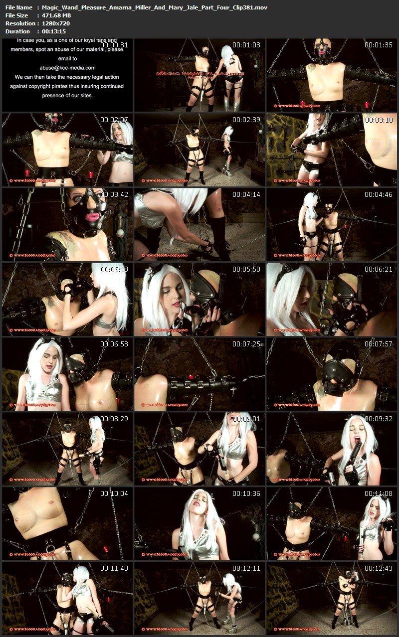 Magic Wand Pleasure – Amarna Miller And Mary Jale Part Four (Clip 381). Jun 10 2015. Bloodangels.com (471 Mb)