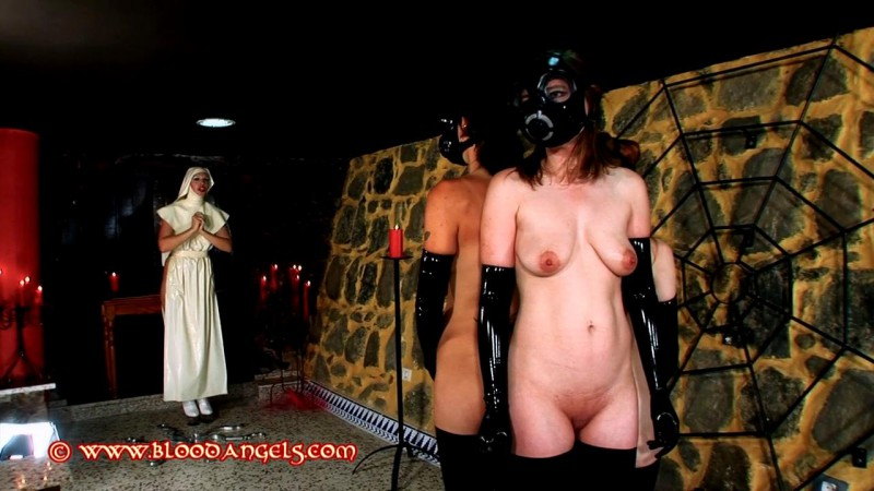 Nunery Bondage – Venus Black, Alexis, Chastina and Karina Part Two (Clip 315). Dec 23 2013. Bloodangels.com (408 Mb)