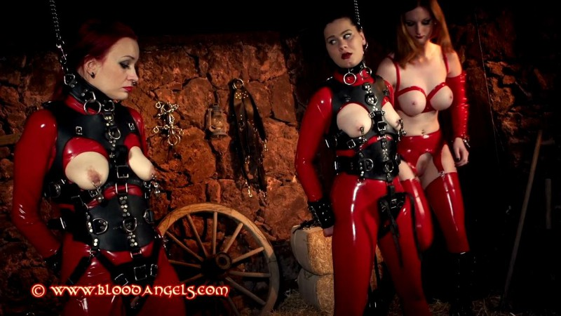 Ponygirls At The Ranch - Zara Durose, Dirty Mary, Tallulah Part Two (Clip 384). Jun 29 2015. Bloodangels.com (428 Mb)