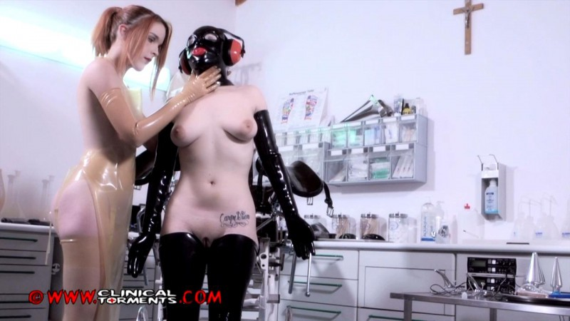 Anal Training - Nurse Amarna Miller and Chiara Diletto Part Six (Clip225). May 12 2015. Clinicaltorments.com (206 Mb)