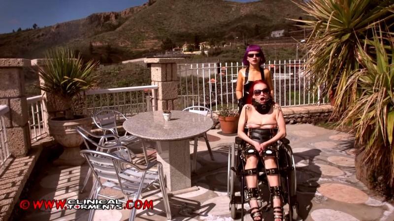 Fetish medical leg braces