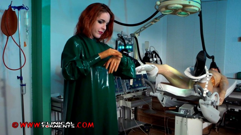 In The Fetish Clinic - Nurse Amarna Miller and Mary Jale Part Seven (Clip207). Dec 16 2014. Clinicaltorments.com (373 Mb)