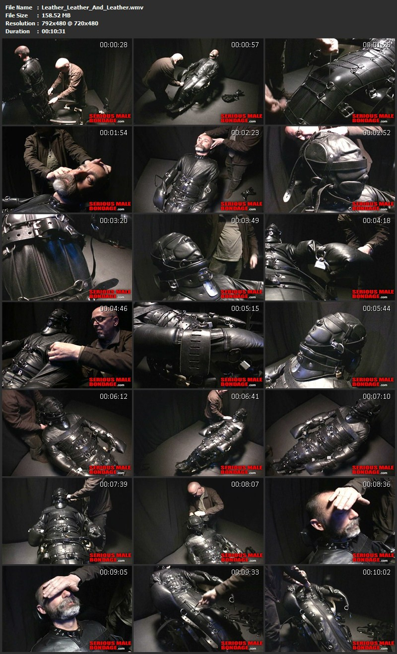 Leather Leather And Leather. May 24 2013. Seriousmalebondage.com (158Mb)