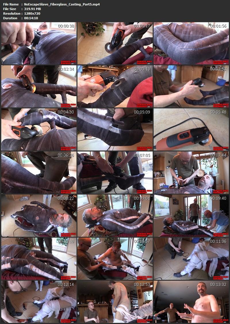 NoEscapeSlave – Fiberglass Casting, Dalton and DocRough. Jul 28 2014. Seriousmalebondage.com (1663Mb)