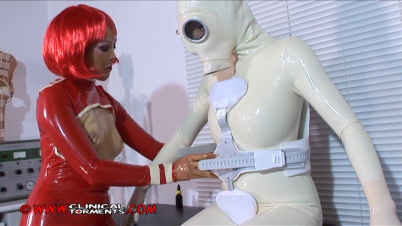 Orthotic Bondage – Nurse Justine and Chastina Part Three (Clip121). Feb 05 2013. Clinicaltorments.com (326 Mb)