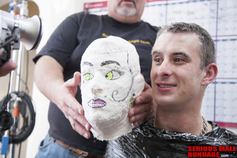 Plaster Casting Mikeys Head. Dec 26 2012. Seriousmalebondage.com (290Mb)