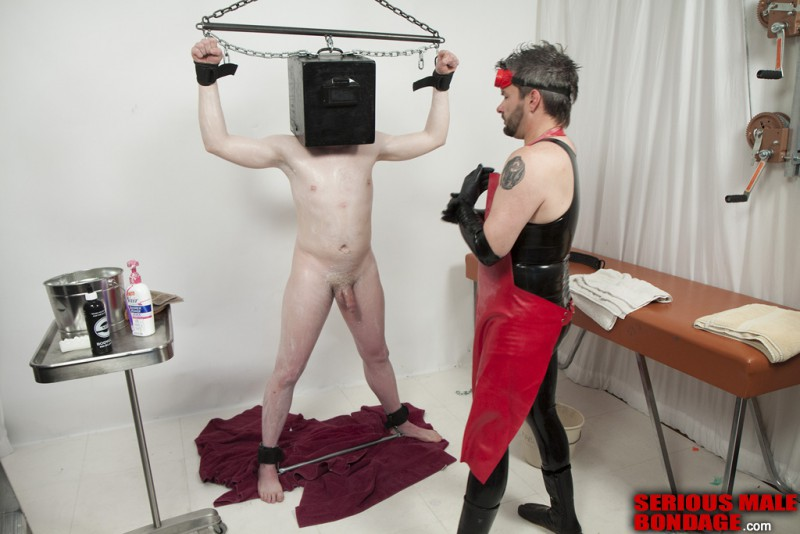 Rank – Gimp Grooming (S975). Jan 07 2013. Seriousmalebondage.com (233Mb)
