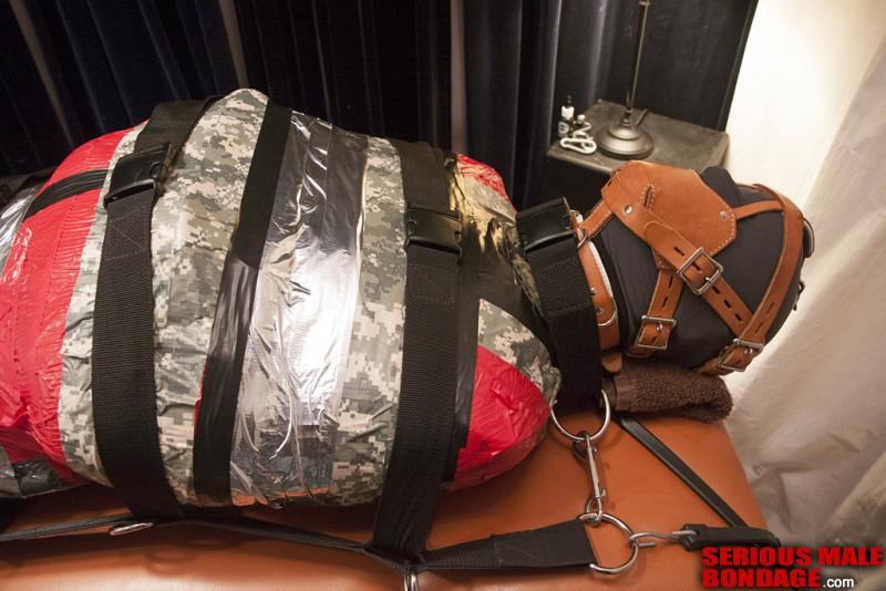 Strait jacket Mummification MummyEd Style. Feb 27 2014. Seriousmalebondage.com (224Mb)