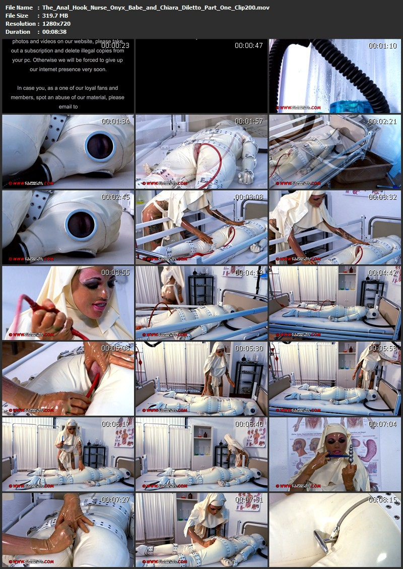 The Anal Hook – Nurse Onyx Babe and Chiara Diletto Part One (Clip200). Oct 29 2014. Clinicaltorments.com (319 Mb)