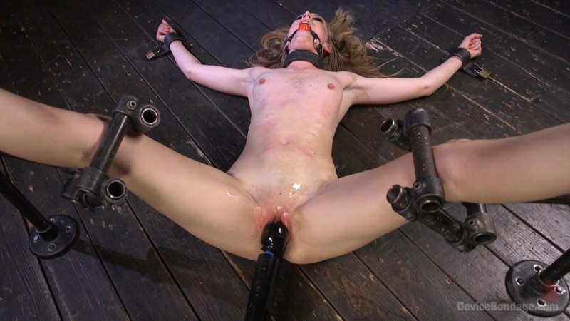 Dominatrix is Destroyed with Brutal Domination in Strict Bondage - Mona Wales. Apr 08 2016. DeviceBondage.com (1561 Mb)