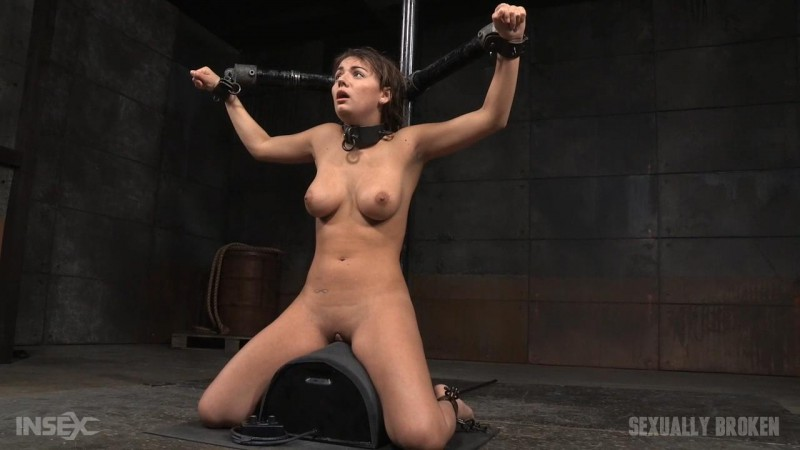 Fresh faced cutie bound on sybian and throat trained - Charlotte Cross. Apr 06 2016. SexuallyBroken.com (878 Mb)