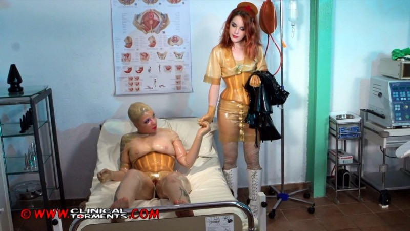 In The Fetish Clinic - Nurse Amarna Miller and Mary Jale Part Sixteen (Clip262). Feb 09 2016. Clinicaltorments.com (323 Mb)