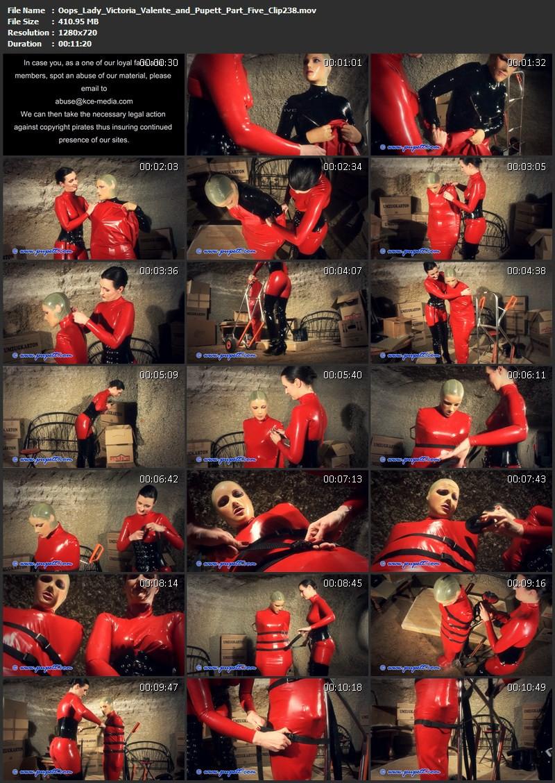 Oops - Lady Victoria Valente and Pupett Part Five (Clip238). Jan 17 2016. Pupett.com (410 Mb)