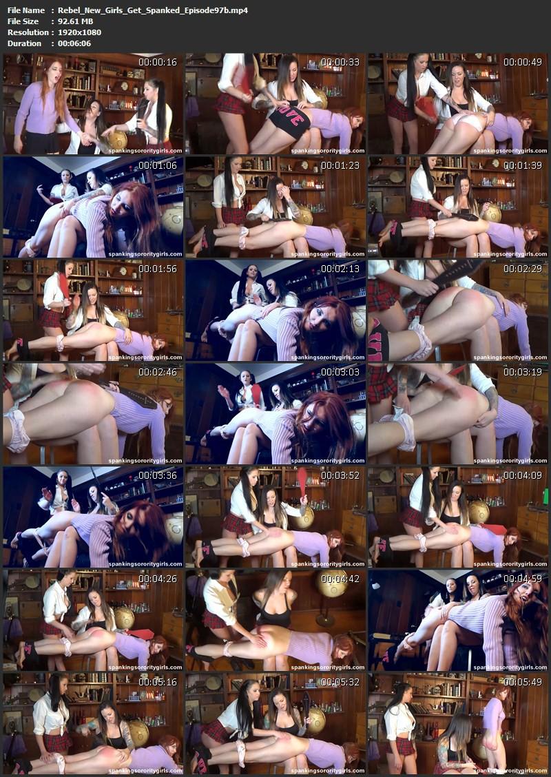 Rebel New Girls Get Spanked - Veronica Ricci, Emily Parker, Chloe James, Episode 97. SpankingsororityGirls.com (226 Mb)