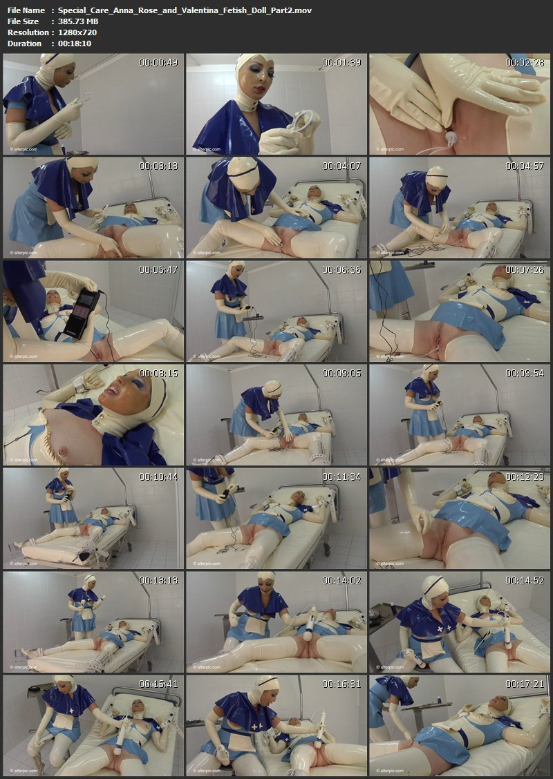 Special Care - Anna Rose and Valentina Fetish Doll Part 2. Mar 21 2014. AlterPic.com (385 Mb)