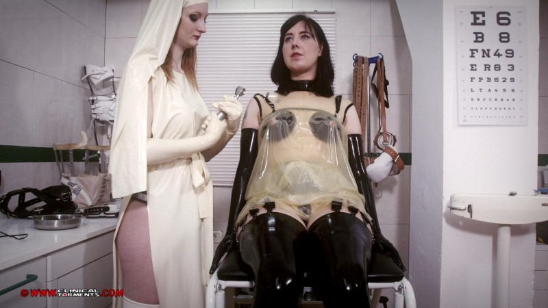 Visual Test - Nurse Zara Durose and Honesty Calliaro Part One (Clip258). Jan 12 2016. Clinicaltorments.com (664 Mb)