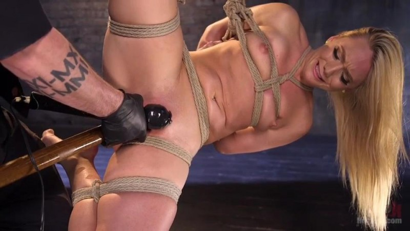 AJ Applegate Submits To Grueling Bondage and Torment – The Pope  and AJ Applegate. May 05 2016. HogTied.com (1022 Mb)