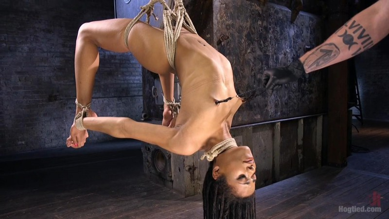 All Natural Ebony Newcomer in Brutal Bondage and Suffering Like a Pro – Kira Noir. May 12 2016. Hogtied.com (1914 Mb)
