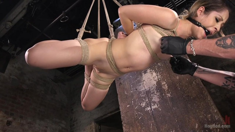 Cute LA Porn Slut in Brutal Bondage and Abused then Made to Cum – Goldie Rush. May 19 2016. Hogtied.com (1868 Mb)