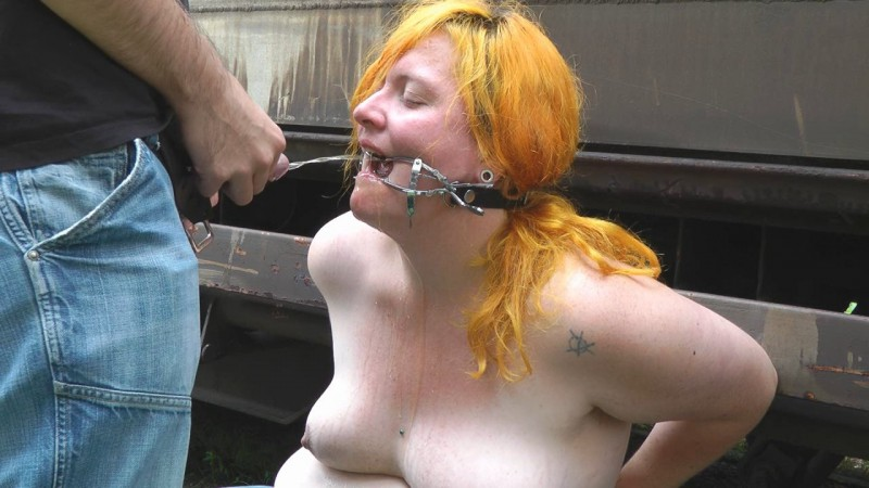 Piss In Mouth Bound Girl. Amateure-Xtreme.com (50 Mb)
