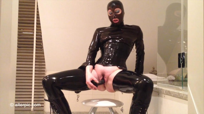 Rubber Dildo Fun - Anna Rose. Mar 25 2016. AlterPic.com (157 Mb)