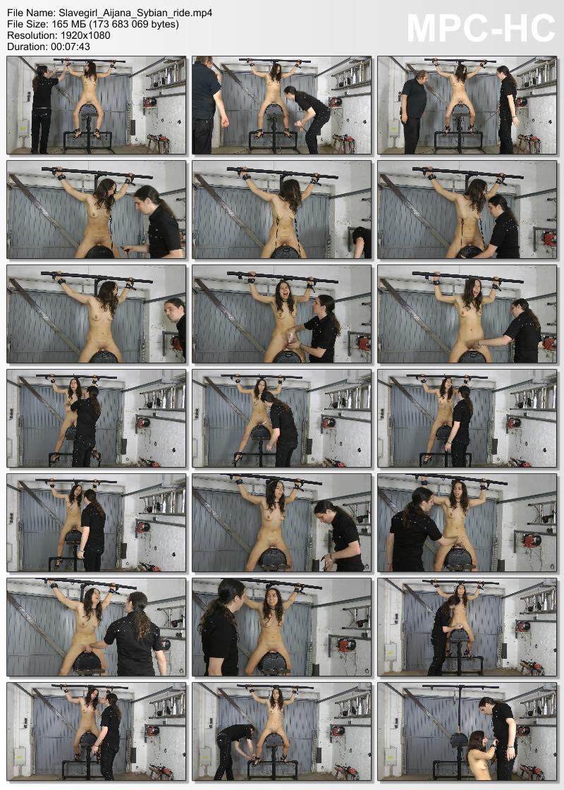 Slavegirl Aijana – Sybian ride. Amateure-Xtreme.com (165 Mb)