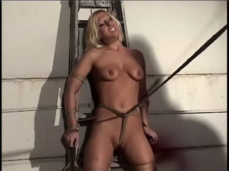 Tormented with Crystal Frost. BackDoorBondage.com (383 Mb)