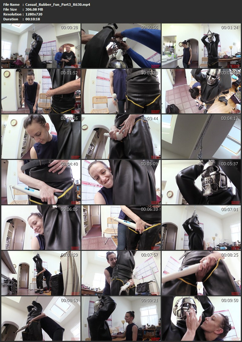Casual Rubber Fun – RubberBug, Wired4Fun, Petgirl Kako (R630). Jun 23 2016. Seriousimages.com (1466 Mb)