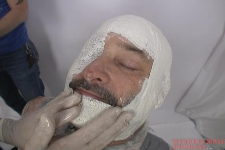 Chuck Gets Plastered (R594). May 21 2016. Seriousmalebondage.com (271 Mb)