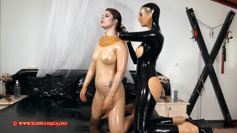 My Little Slavegirl – Zara Durose and Lucia Love Part Seven (Clip 428). May 23 2016. Bloodangels.com (762 Mb)