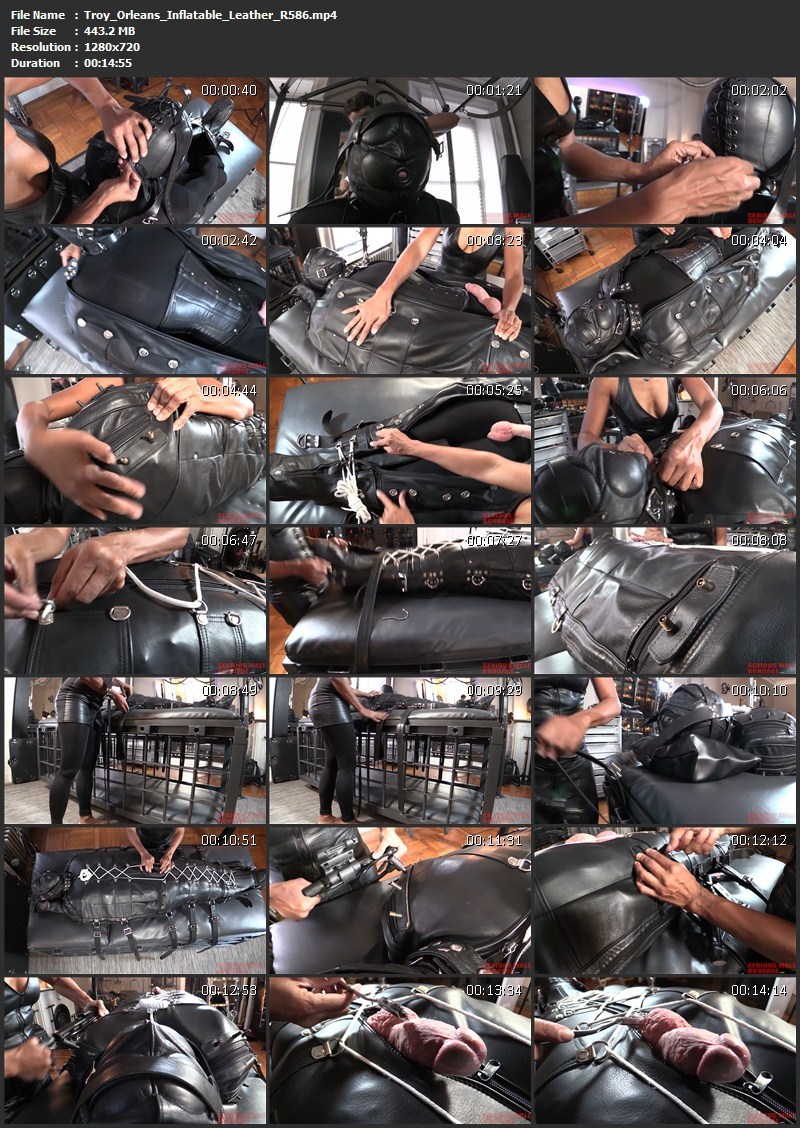 Troy Orleans - Inflatable Leather (R586). Jun 11 2016. Seriousimages.com (443 Mb)