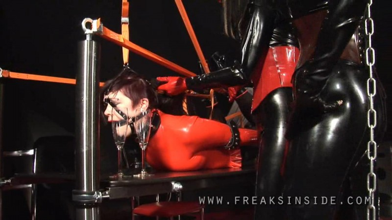 Table Bound – Shinyaline, Mercedes And Lady Seraphina Part Two. Dec 15 2009. Freaksinside.com (304 Mb)