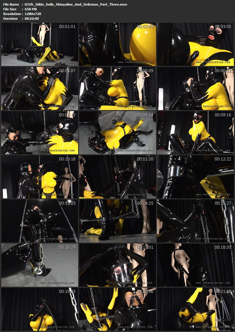 Dildo Dolls – Shinyaline And Delicious Part Three. Mar 05 2010. Freaksinside.com (657 Mb)