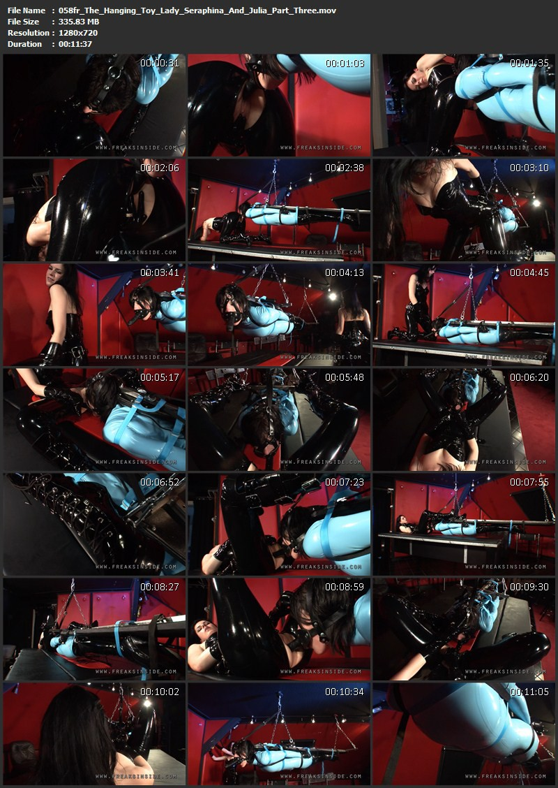 The Hanging Toy – Lady Seraphina And Julia Part Three. Mar 10 2011. Freaksinside.com (335Mb)